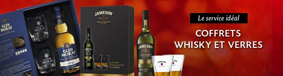 coffret whisky grandes marques